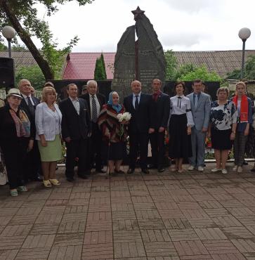 Митинг-реквием, посвященный Дню всенародной памяти жертв Великой Отечественной войны